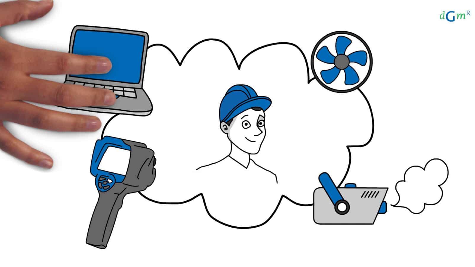 Wat is een blowerdoormeting | DGMR