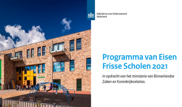 Nieuwe PvE Frisse Scholen opgesteld door bba binnenmilieu, dochter van DGMR