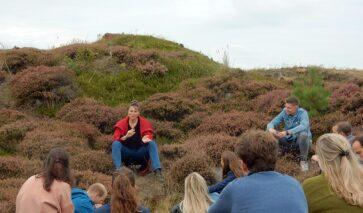 Met het Future Leaders Program in de duinen